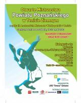 Otwarte Mistrzostwa Powiatu Poznańskiego w Tenisie z cyklu III AMW poster