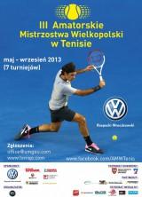 III AMW w Tenisie - turniej o Puchar Prezydenta Gniezna poster