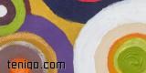 Beata Pflanz, Circlus of Energy IV – acryl na płótnie-24x24-2012 7700