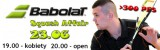 Babolat Squash Affair  > 300 PFS poster