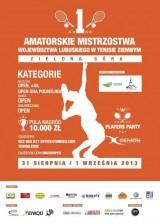 I Amatorskie Mistrzostwa Województwa Lubuskiego - Zielona Góra poster