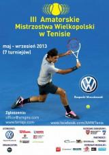 III AMW w Tenisie VW Rzepecki Mroczkowski - Turniej o Puchar Banku Spółdzielczego w Chodzieży poster