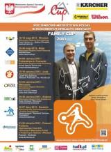 Ogólnopolski Finał XVIII Tenisowych Mistrzostw Polski w Rodzinnych deblach i mikstach 2013 poster