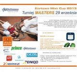 Kortowo mixt Cup >> MASTERS >> Turniej par mieszanych poster