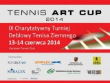 TENNIS ART CUP 2014 poster