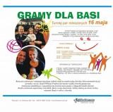 CHARYTATYWNY TURNIEJ MIXTA >> GRAMY DLA BASI poster
