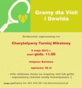 CHARYTATYWNY TURNIEJ MIXTA >>> GRAMY DLA DAWIDA poster