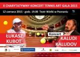 X CHARYTATYWNY TURNIEJ TENISOWY TENNIS ART CUP 2015 poster
