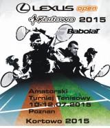 LEXUS OPEN KORTOWO 2015 BABOLAT poster