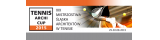 XIX MISTRZOSTWA ŚLĄSKA ARCHITEKTÓW W TENISIE logo