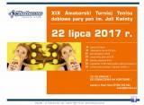GRACJA 2017 XIX Amatorski Turniej Tenisa deblowych par pań im. Joli Kwinty poster