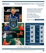 LEXUS KORTOWO GENTELMEN'S CUP 2017/2018 VII edycja 1. Turniej poster