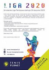 Smolecka Liga Tenisowa Tenis Planet jesień 2020 poster